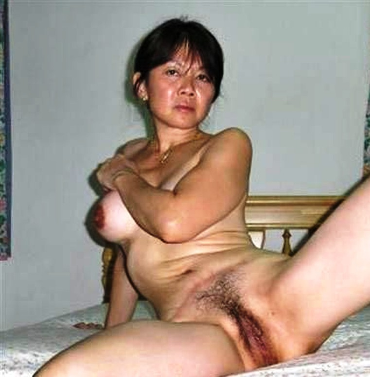 Very old asian pussy