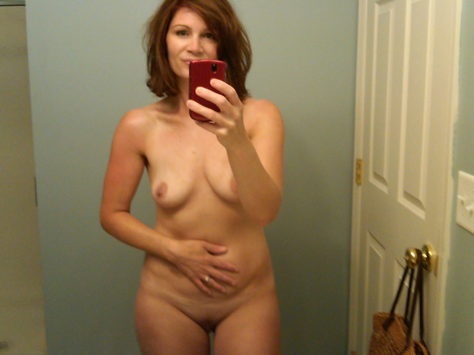 Moms Naughty Self Mirror Nude
