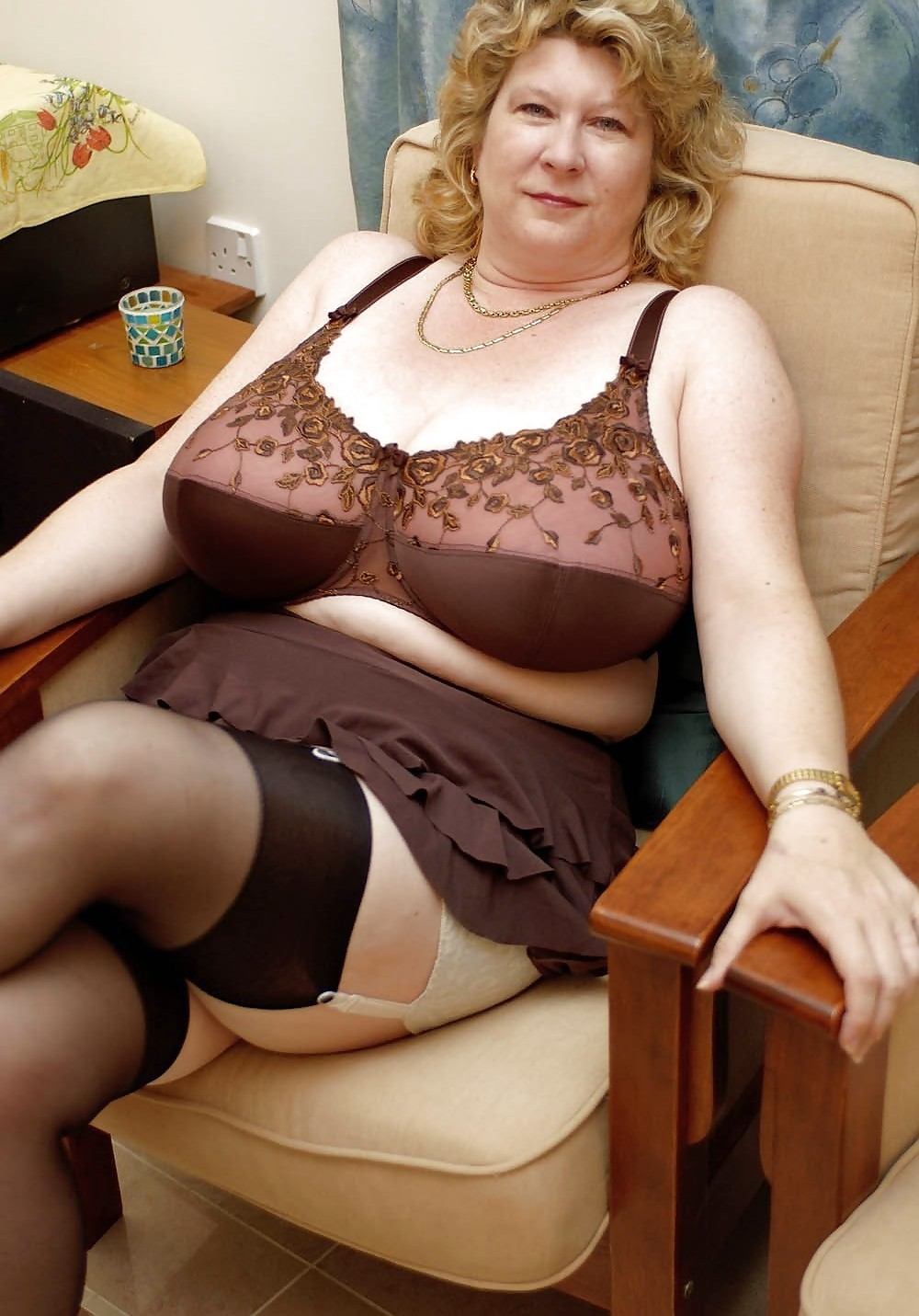 Think, Mature bbw girdle and stockings