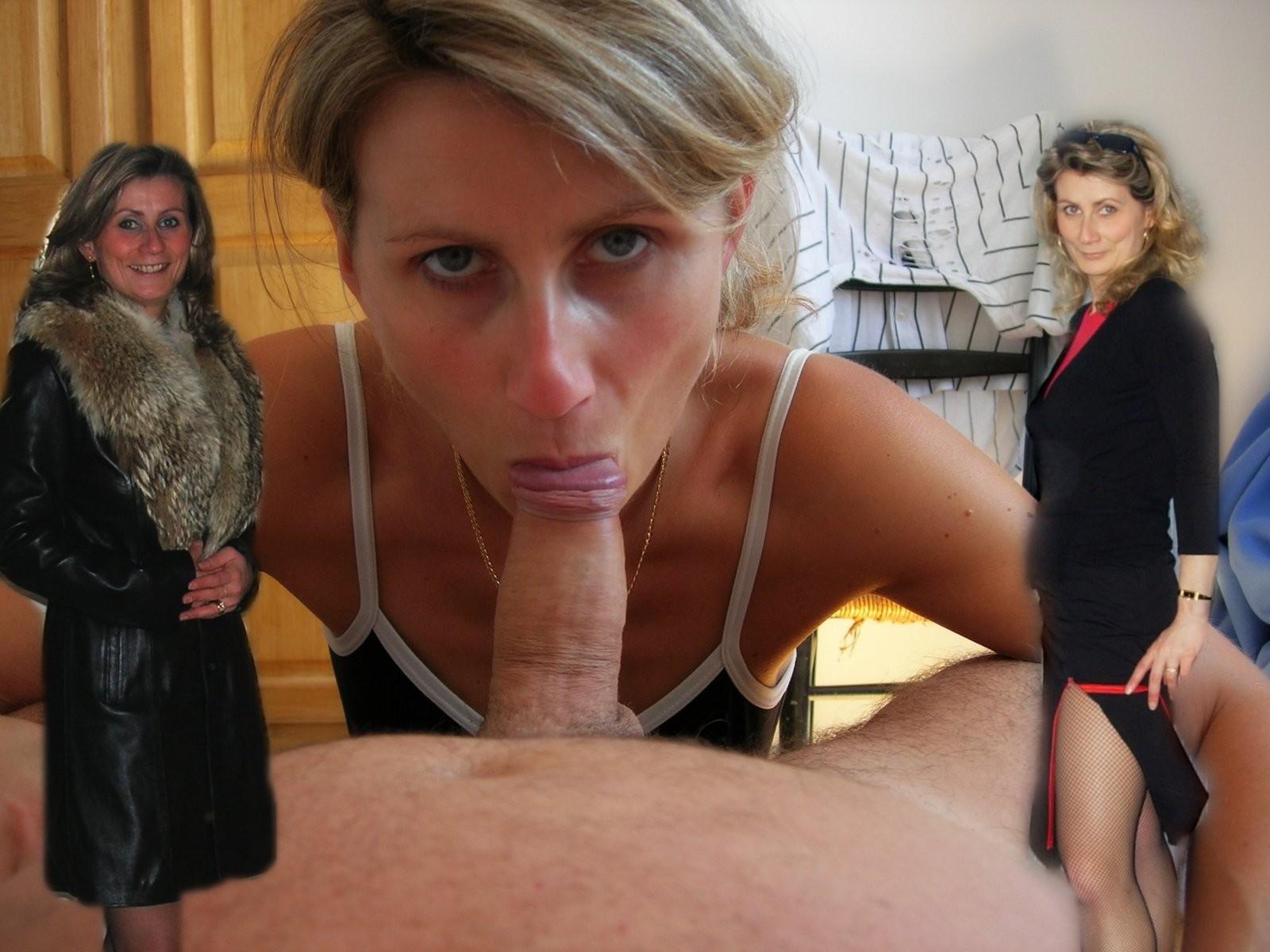 Русскую зрелую женщину начальник заставил сосать 7 фотография