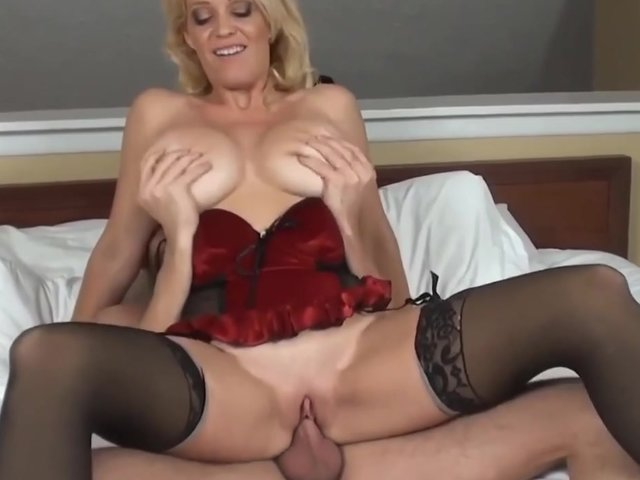 mature blonde porn