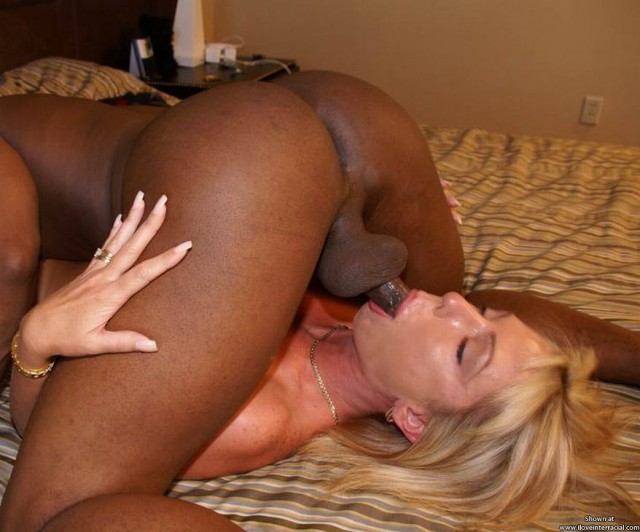 Interracial mature sex amateur