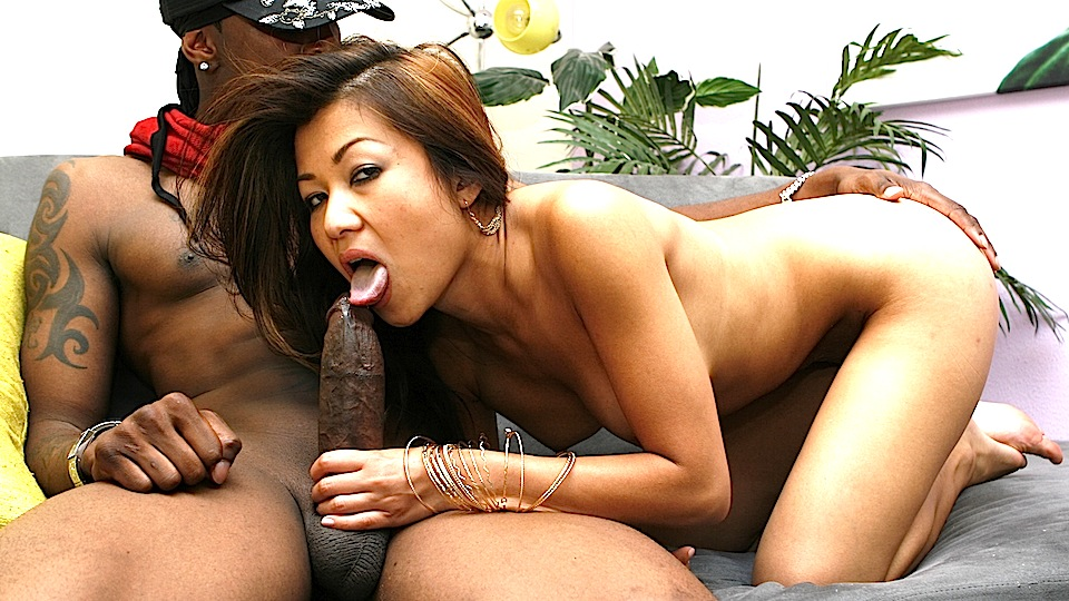 asian loves black cock