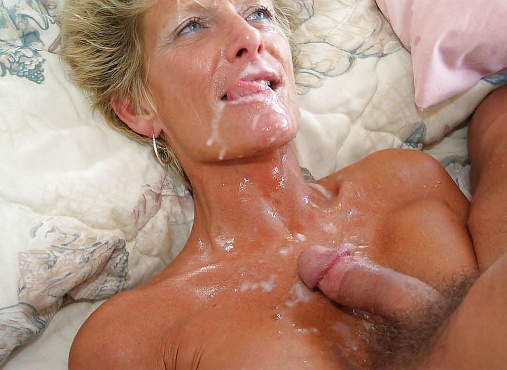 Amateur blonde milf facial compilation hot 6