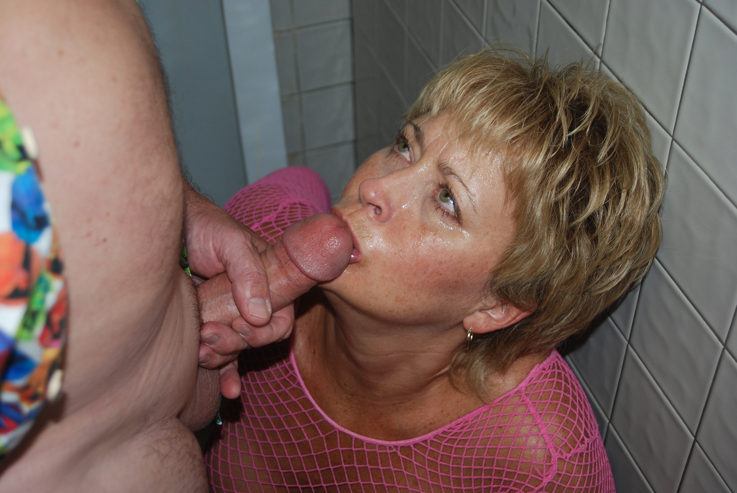 Granny looking at you amateur