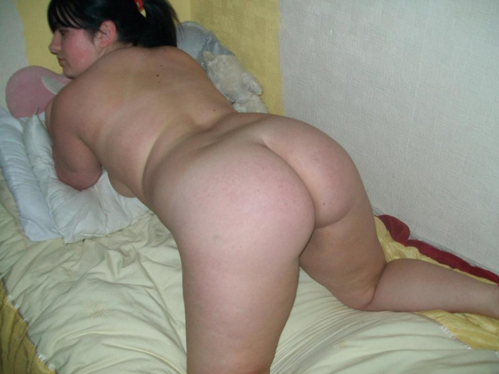 Chubby Hairless Ponytailed Teen Caned