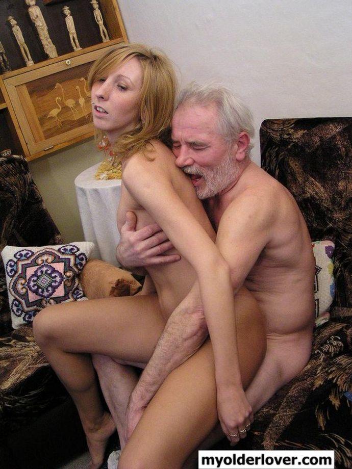 старик и внучка порно фото