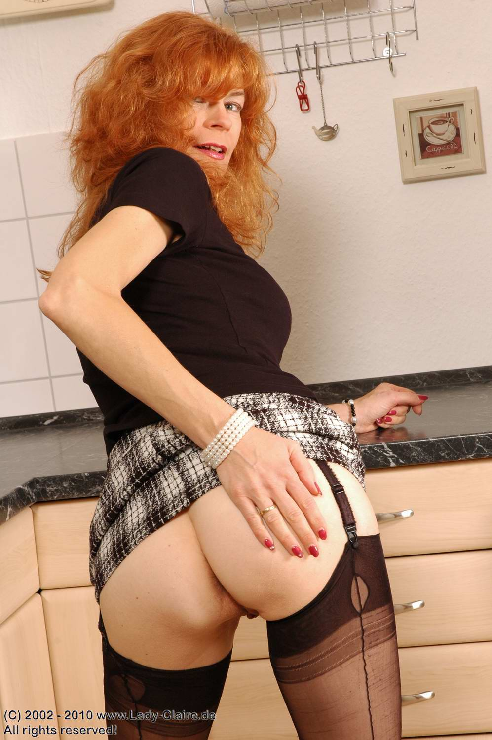 German milf ass