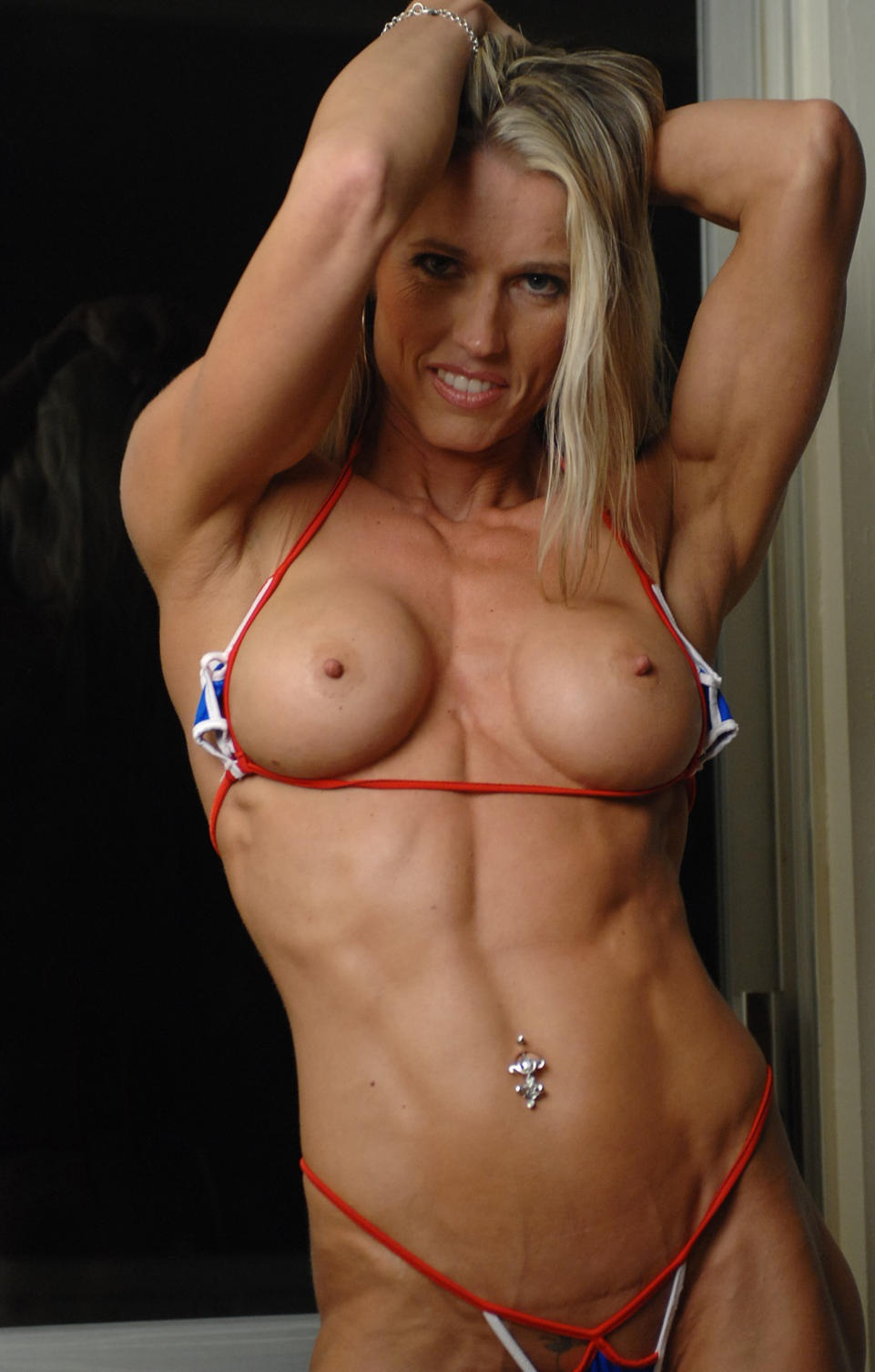 Sexy abs naked women