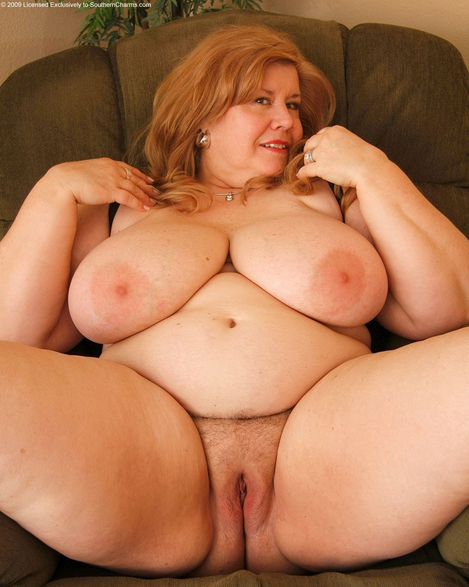 Granny plump naked