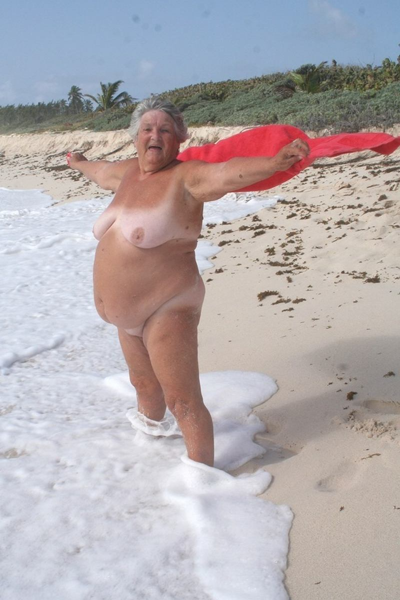 hot grannies nude on the beach