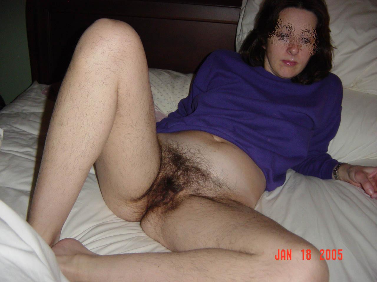 Haarige FrauenäRsche