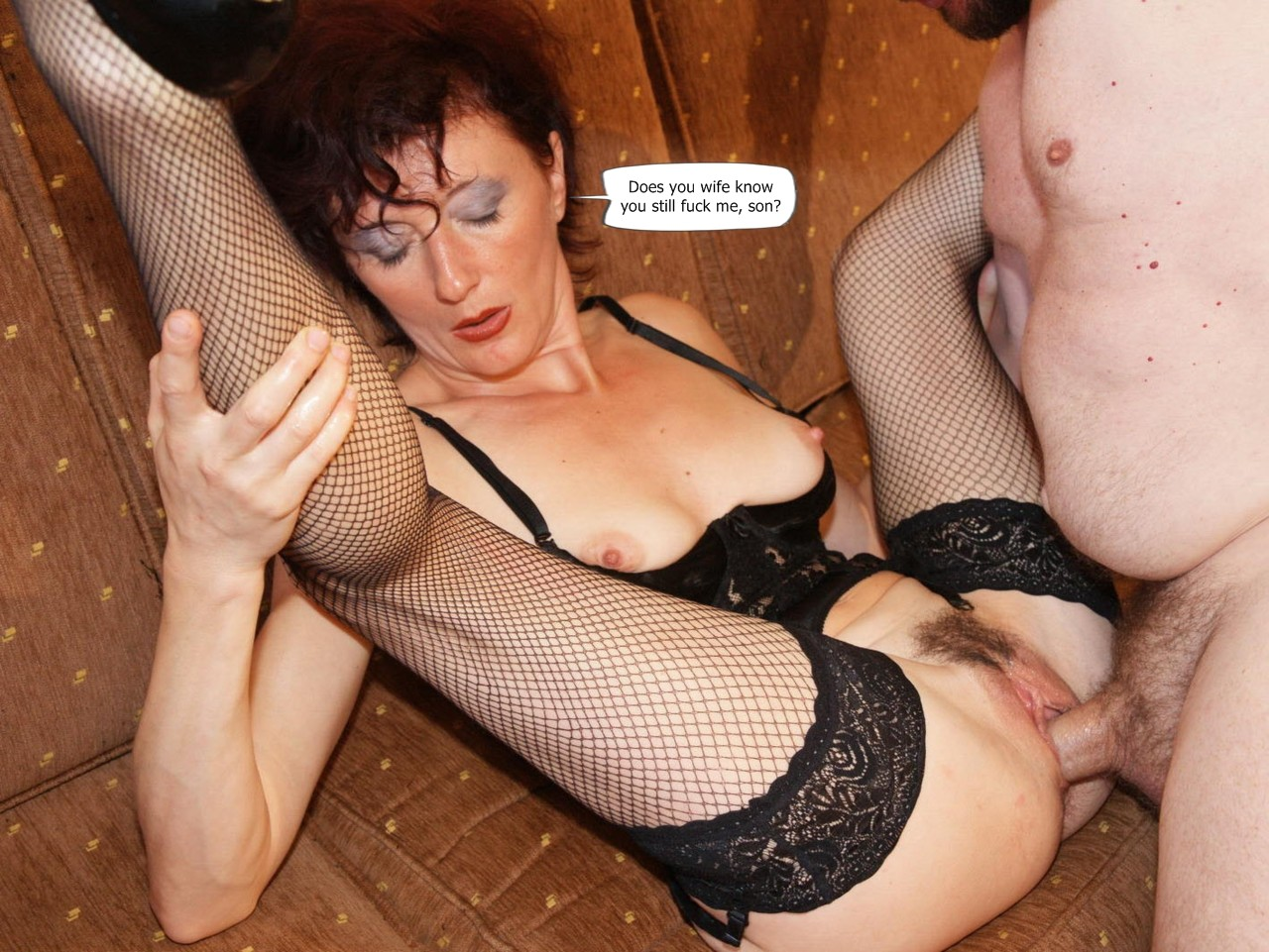 Sucking two cocks one woman