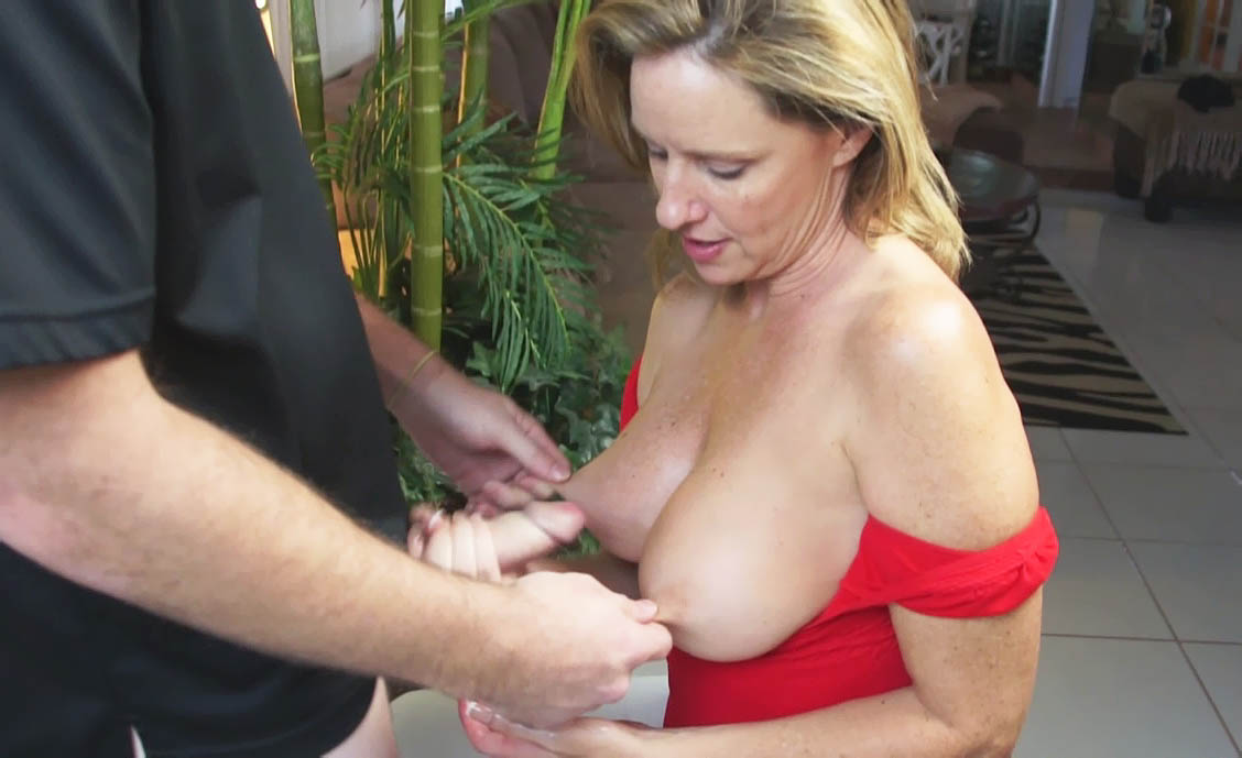 Mother giving handjob slutload