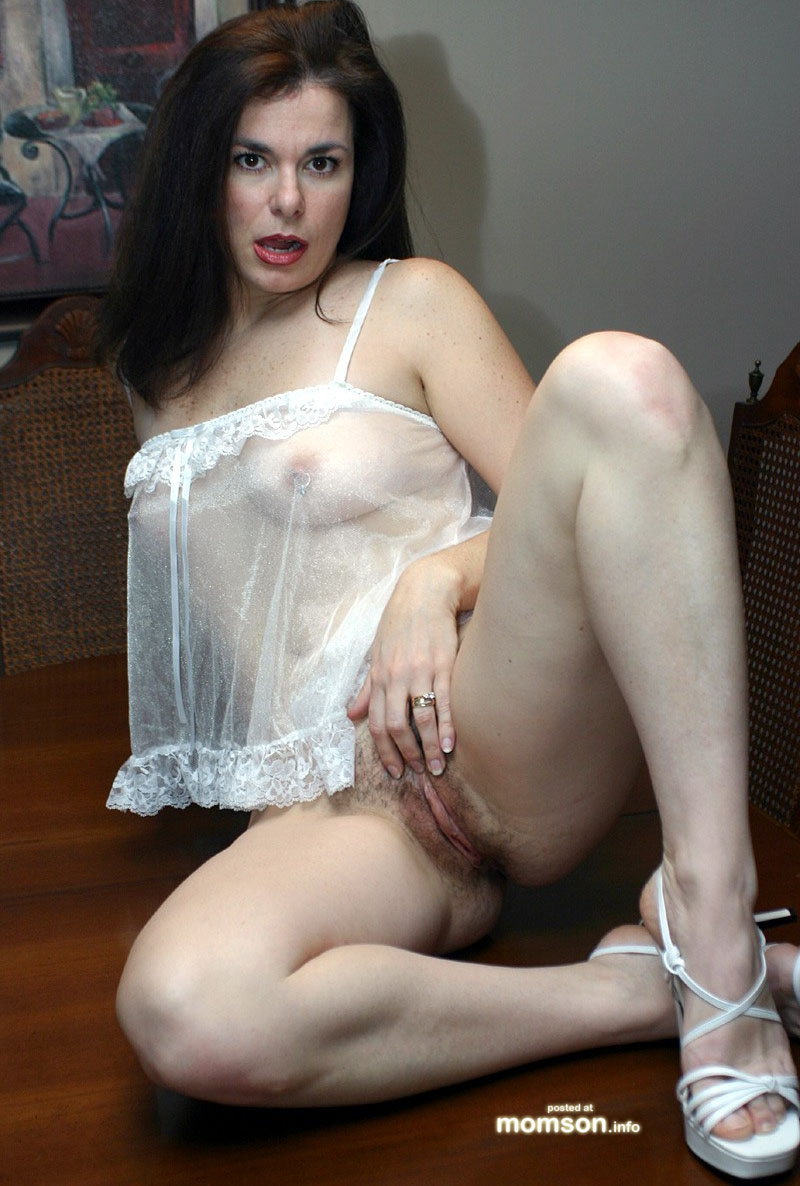 Naked horny young moms