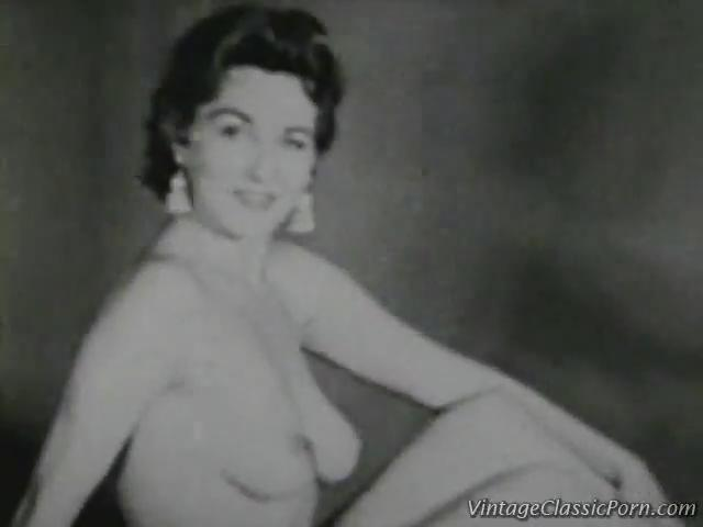 lady naked nude old porn sex nude classic posing unknown