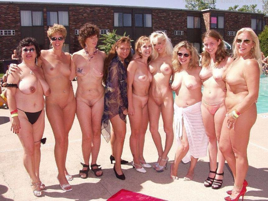 Are not Group mature nude grannies