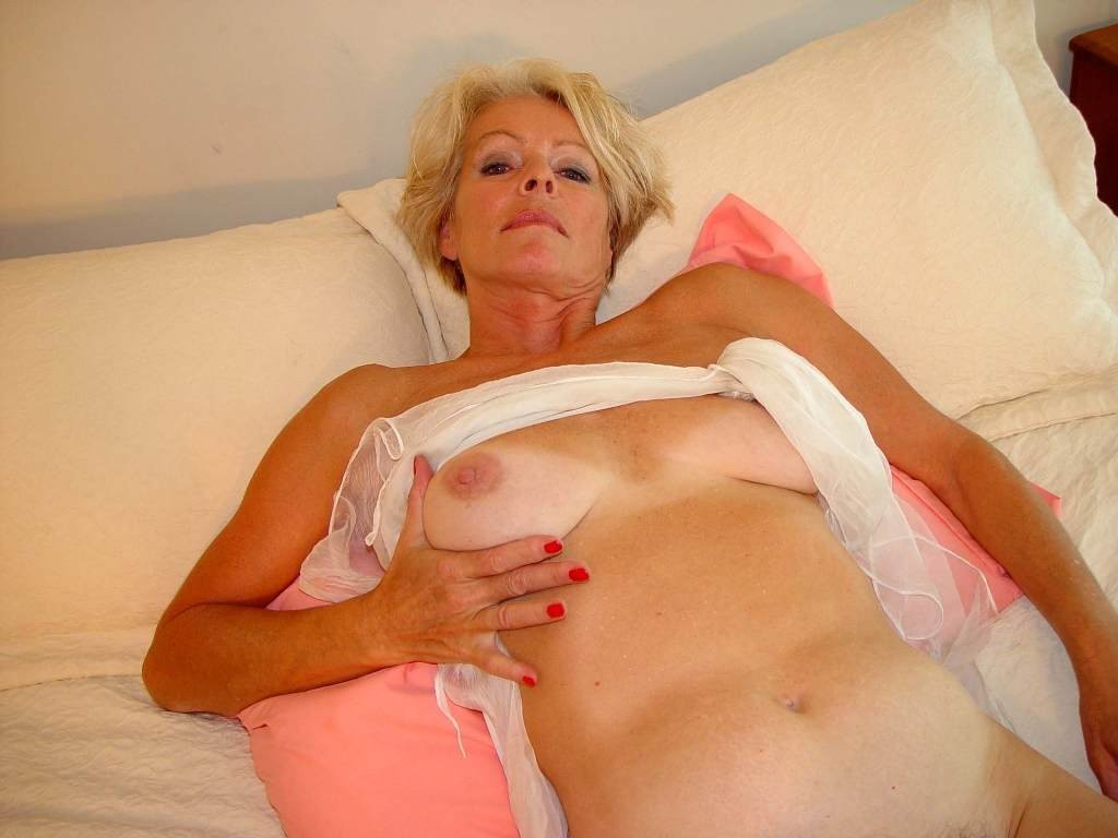 Hot blonde milf solo that was