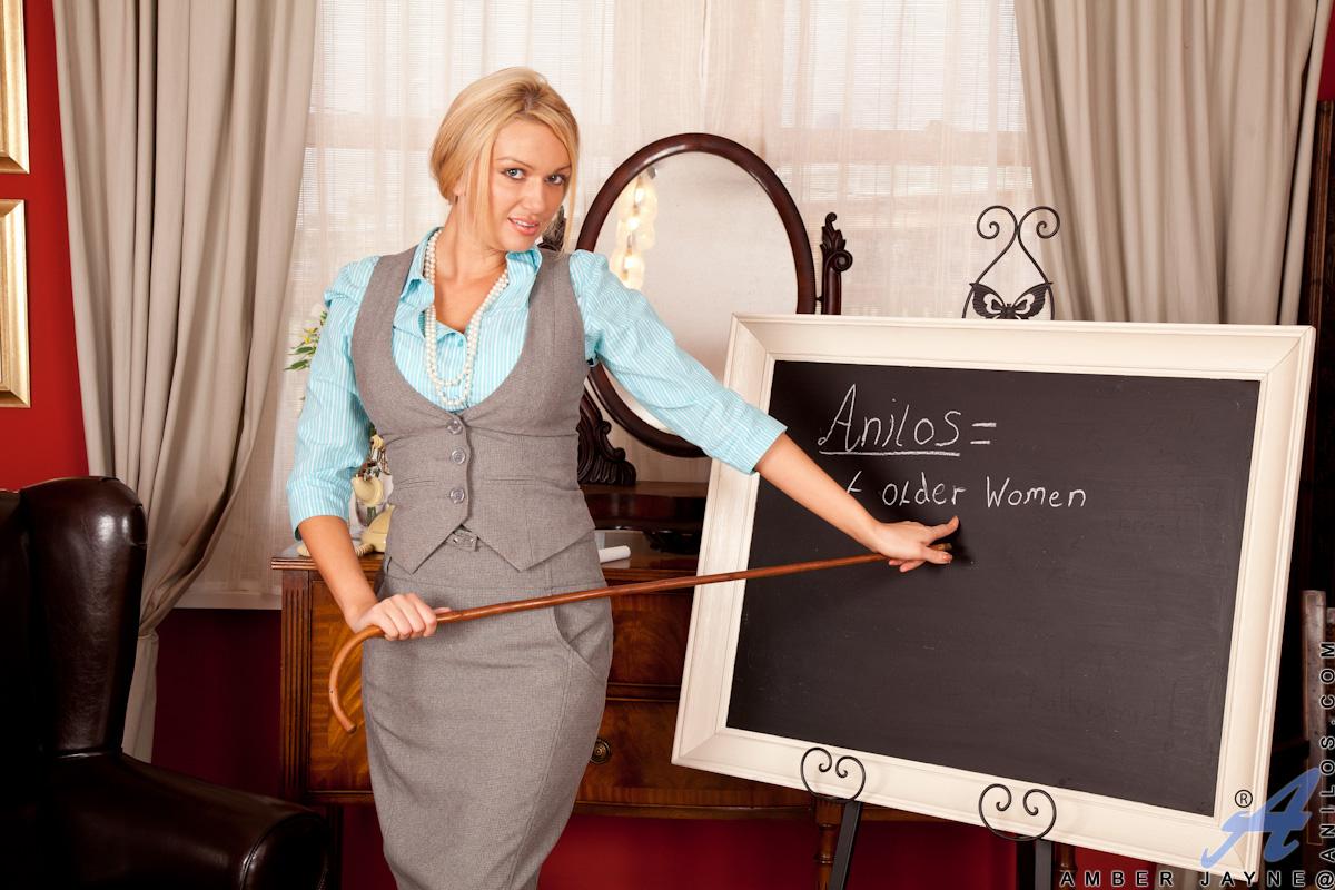 older teacher