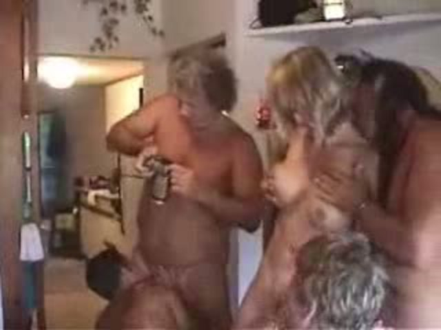 Mature nude orgy right! seems