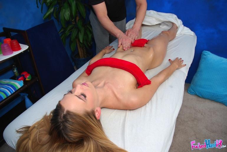 Studenten Alte Zierlicher Massage