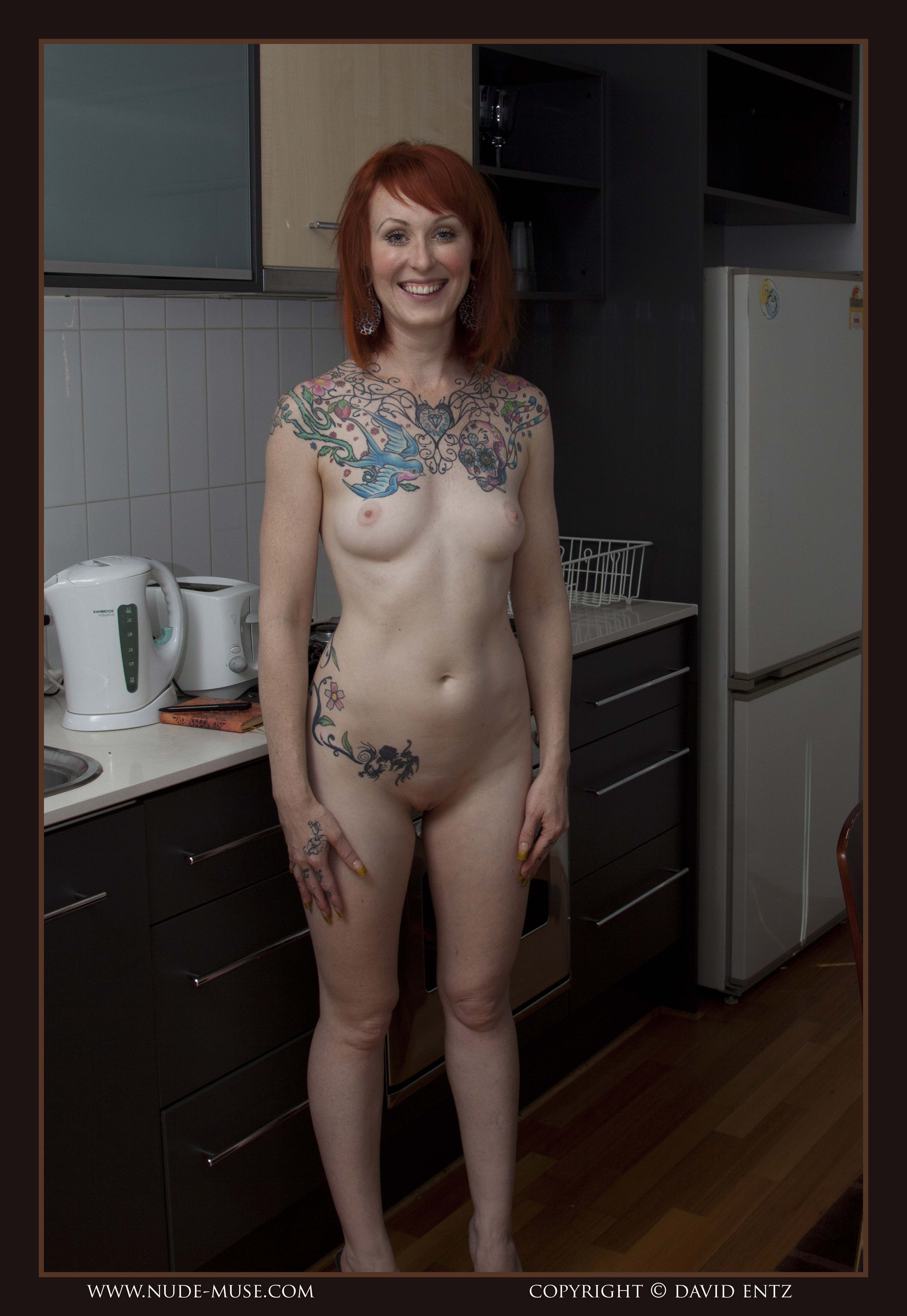 Mature woman tattoo naked