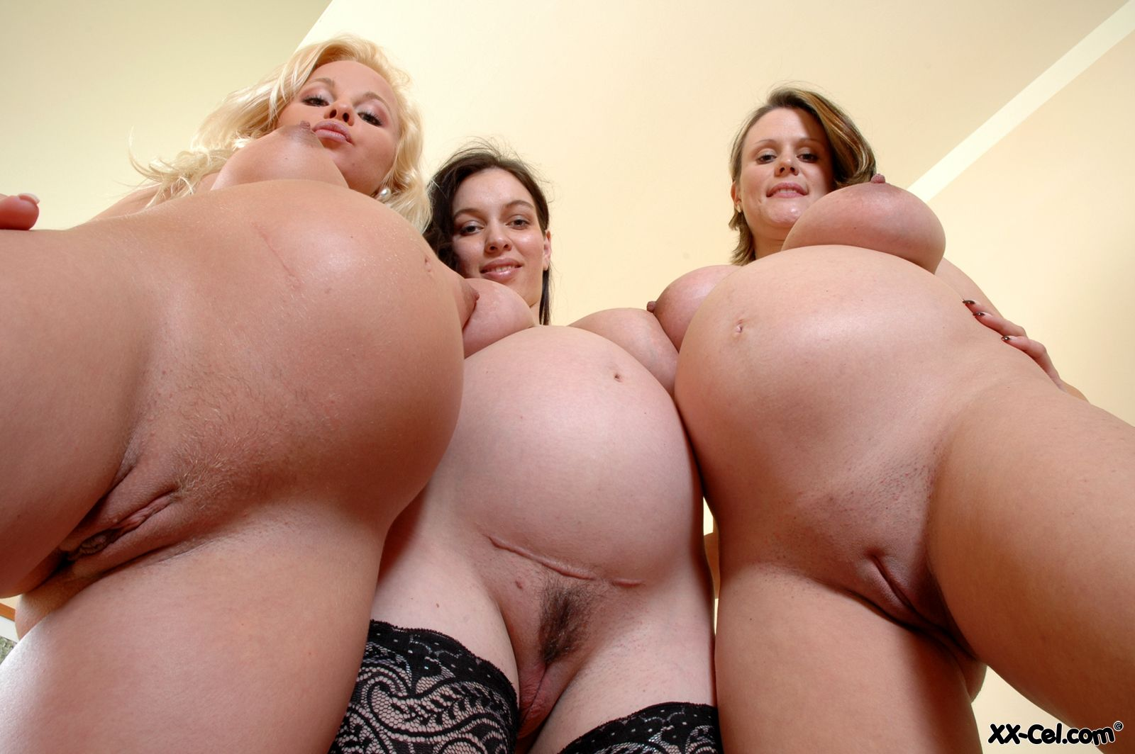 pregnant lesbians topless