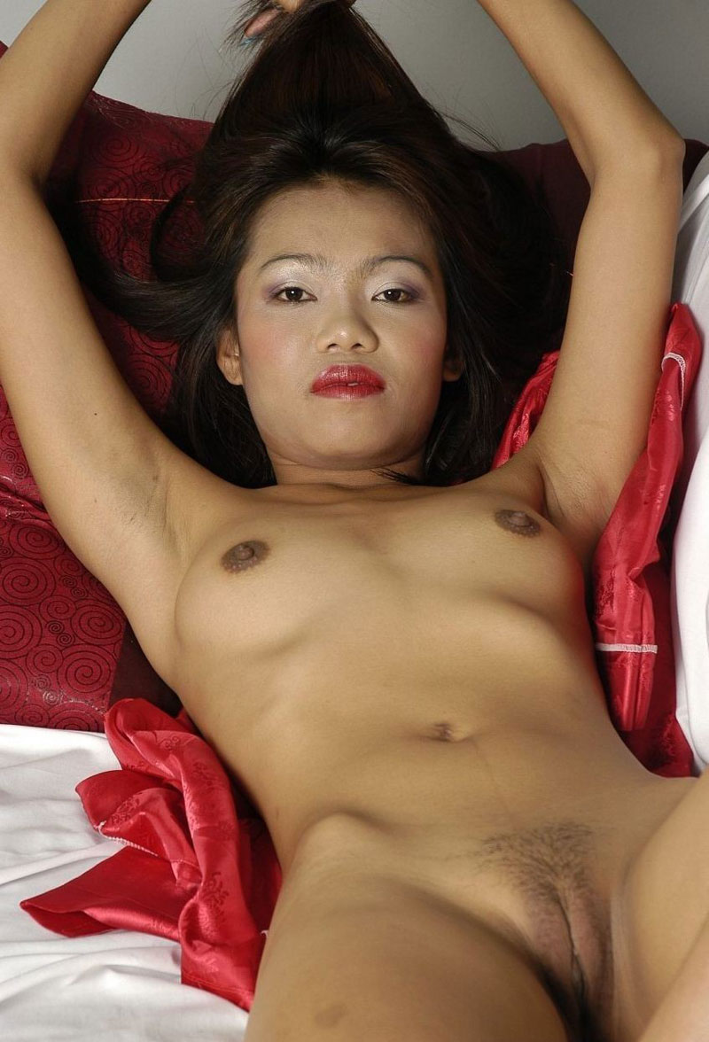 Natural asian tits