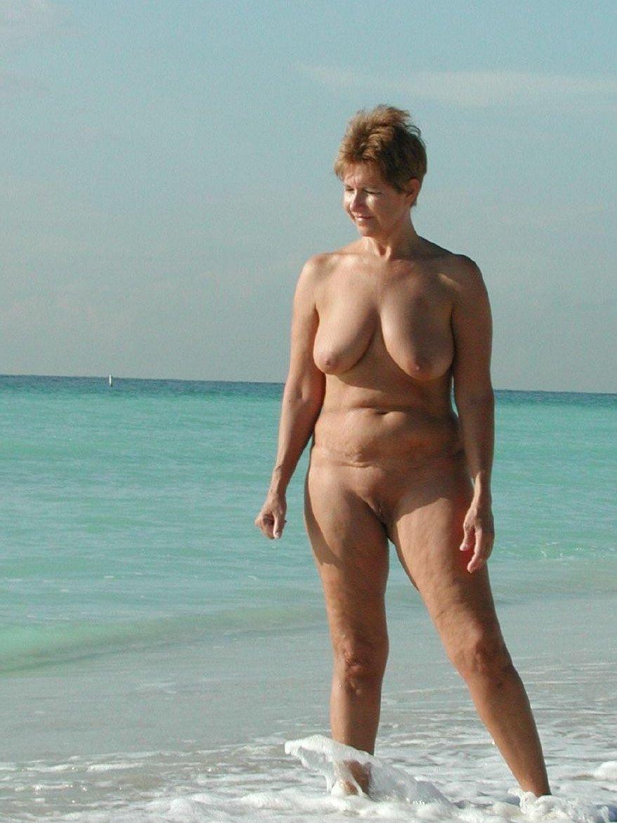 Criticising advise Nude beach old lady something
