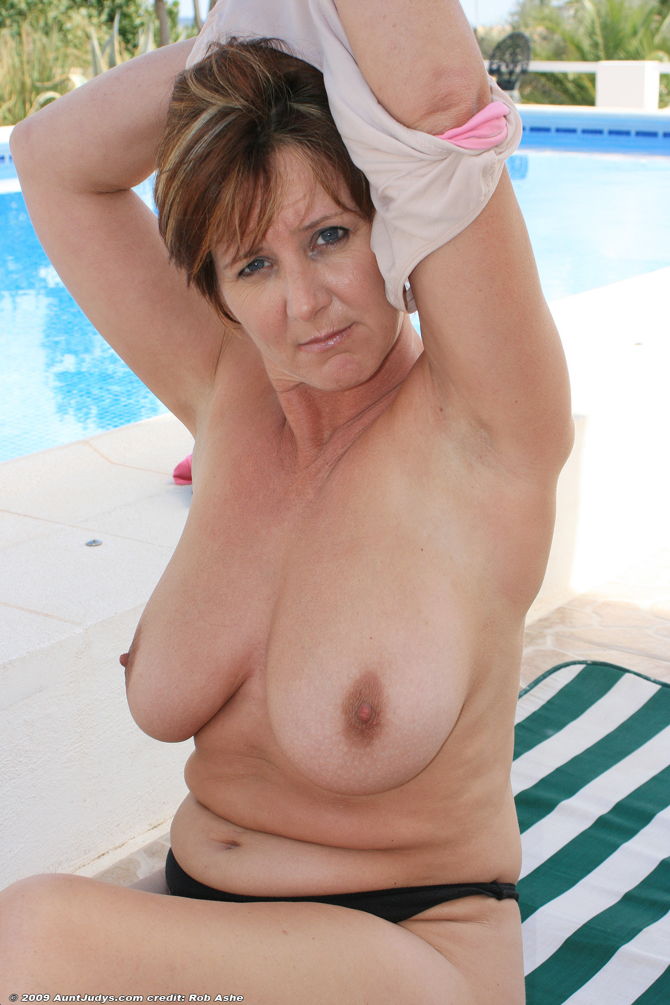 Big boob lady older sex