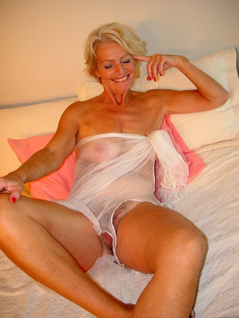 Blonde milf before and after 1