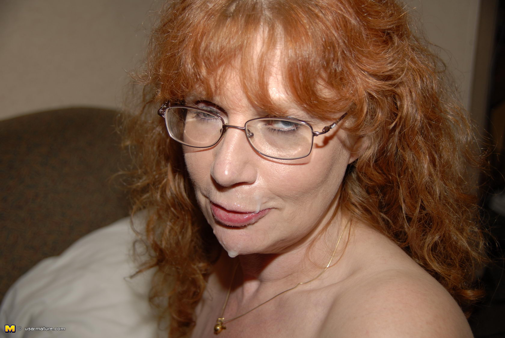 Redhead With Glasses Fucked