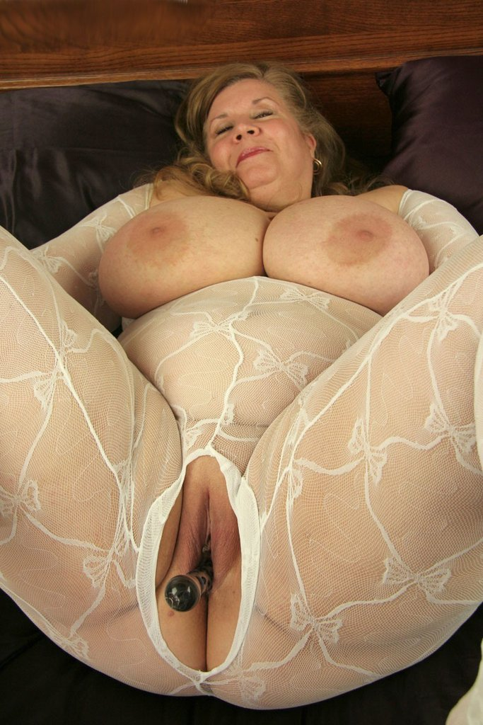 Big tits with erect nipples