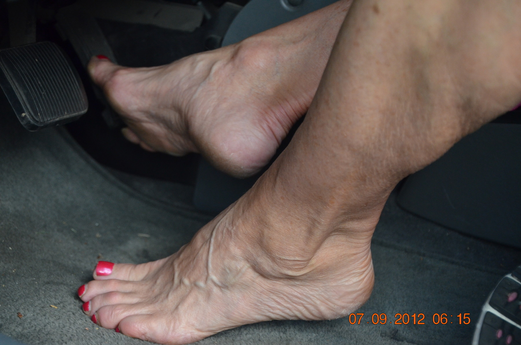 Foot worship mature you
