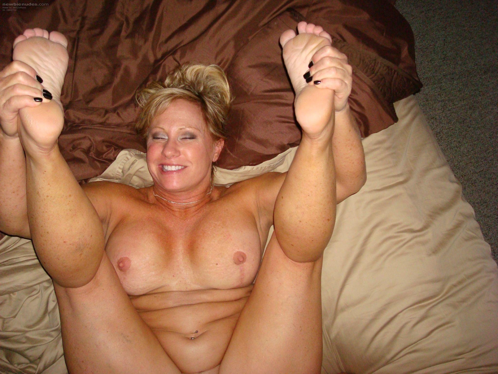 Homemade foot porn