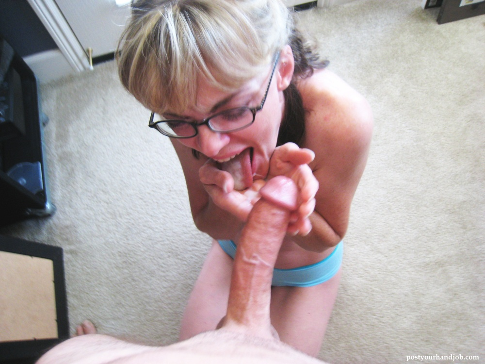 Amateur milf blow and hand jobs