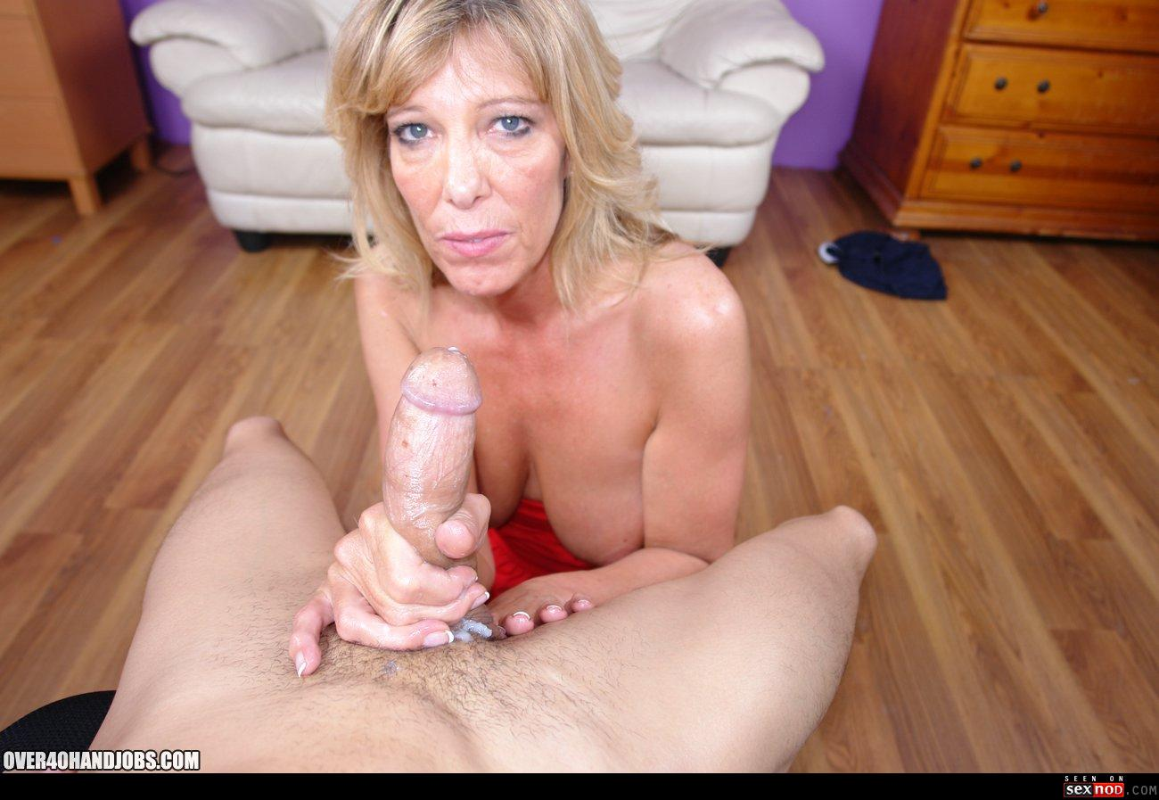 Mature handjob trailers