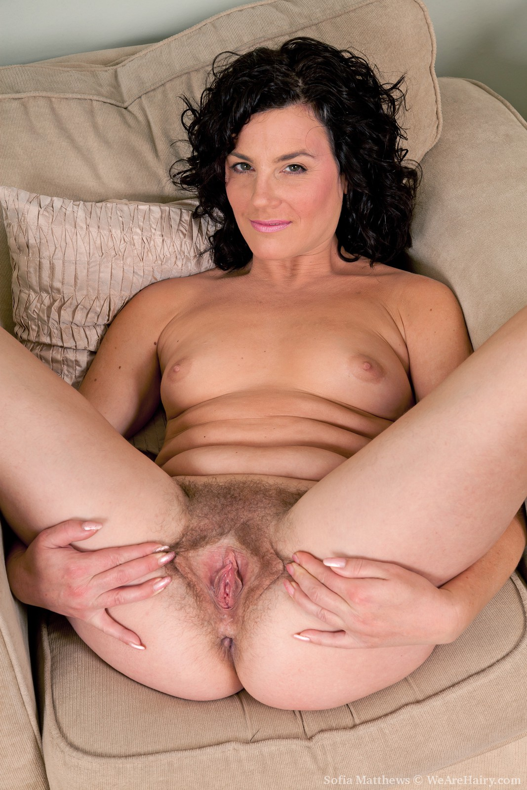 2 hot hairy milfs fucked by band of men 6