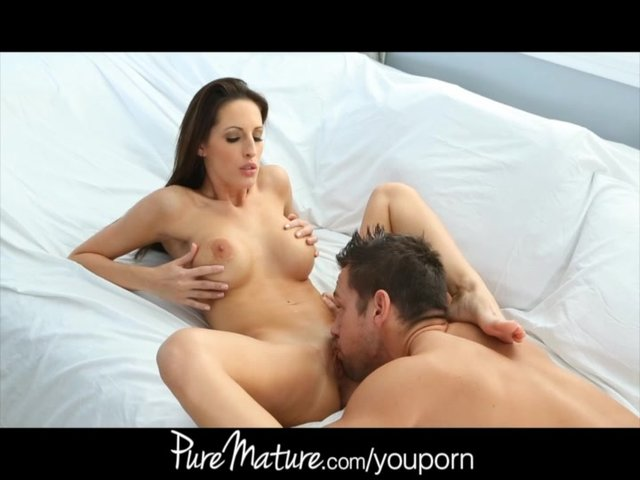 mature mom porn mom watch young cock puremature milk craves