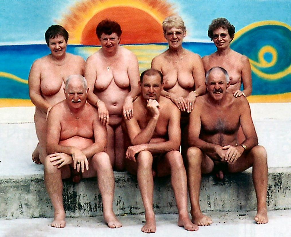 old nudists