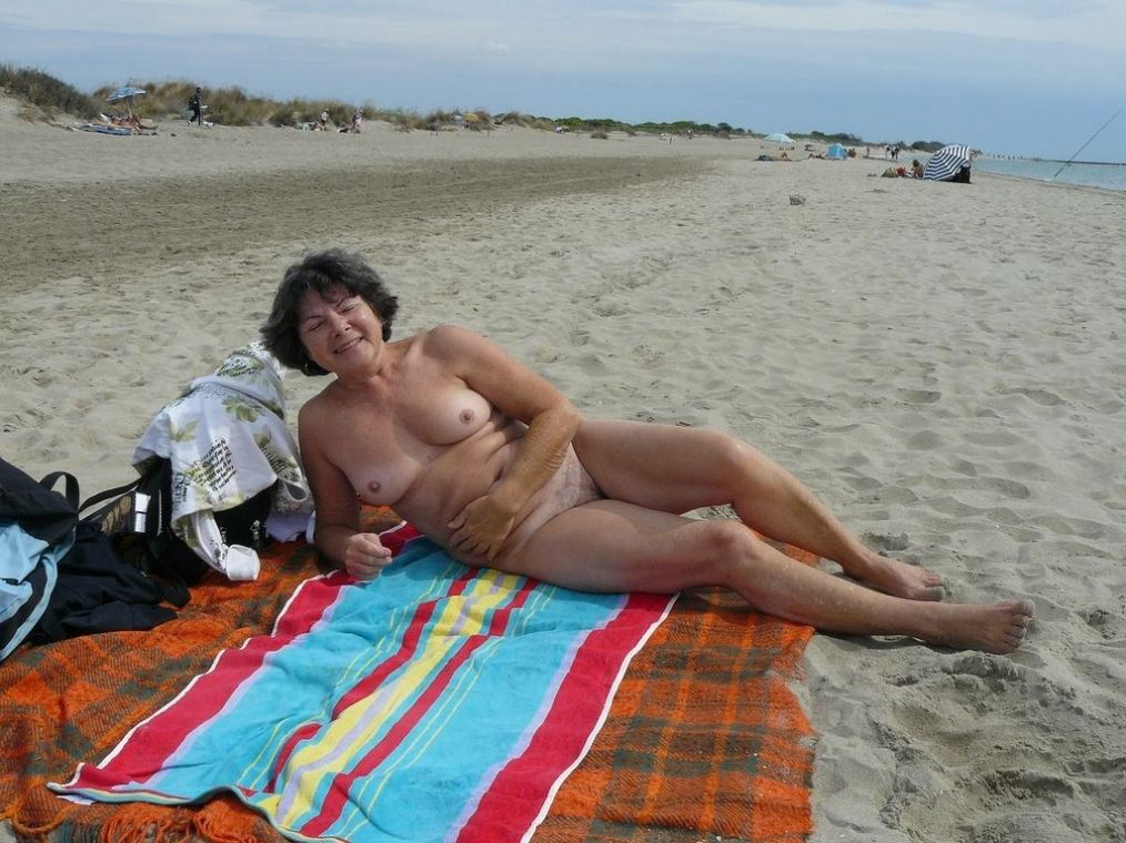 With you Nude beach old lady fantasy)))) remarkable