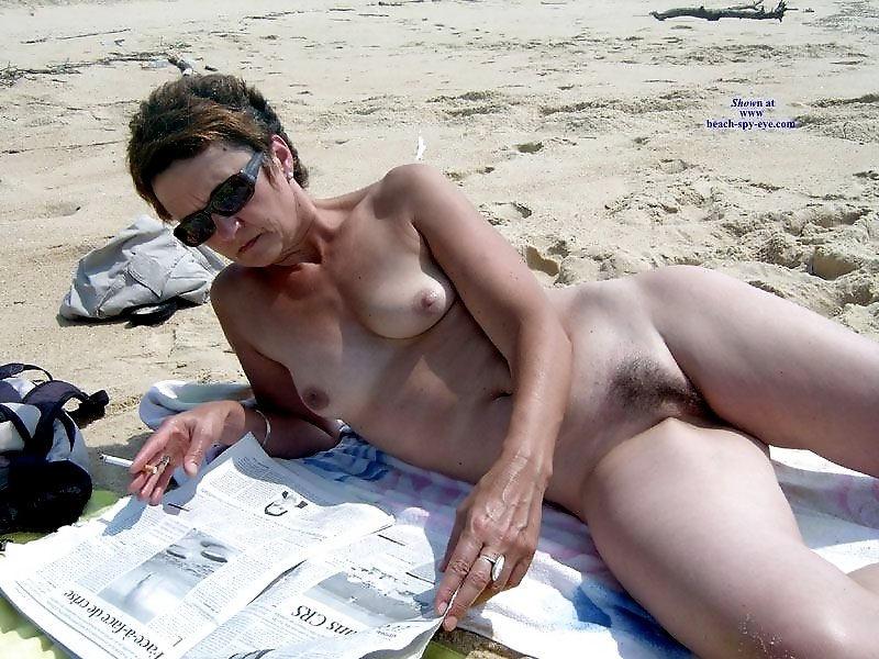 Old women at nude beach