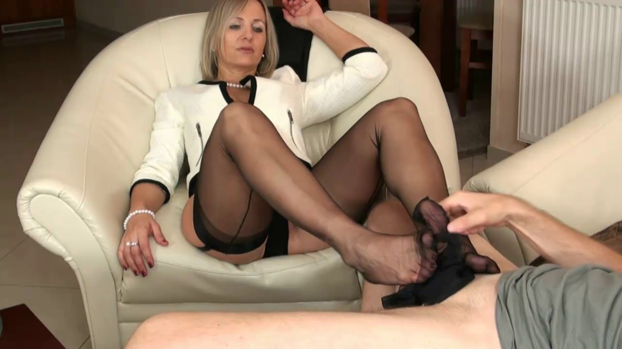 Nylon XXX Videos - Nylon fetish movies, nylon-clad