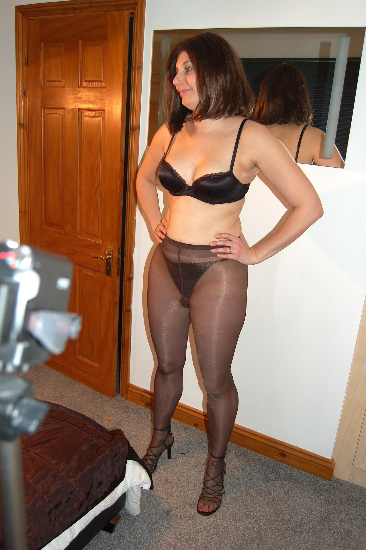 Reserved matures and pantyhose video — photo 13