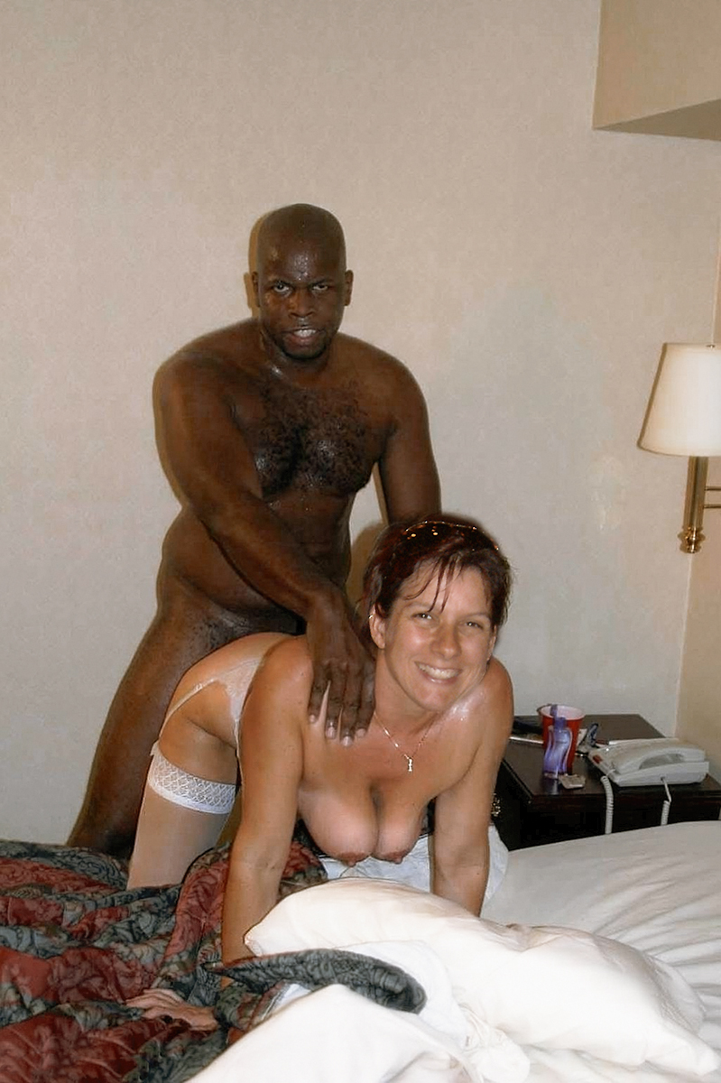 Wife takes first black cock husband