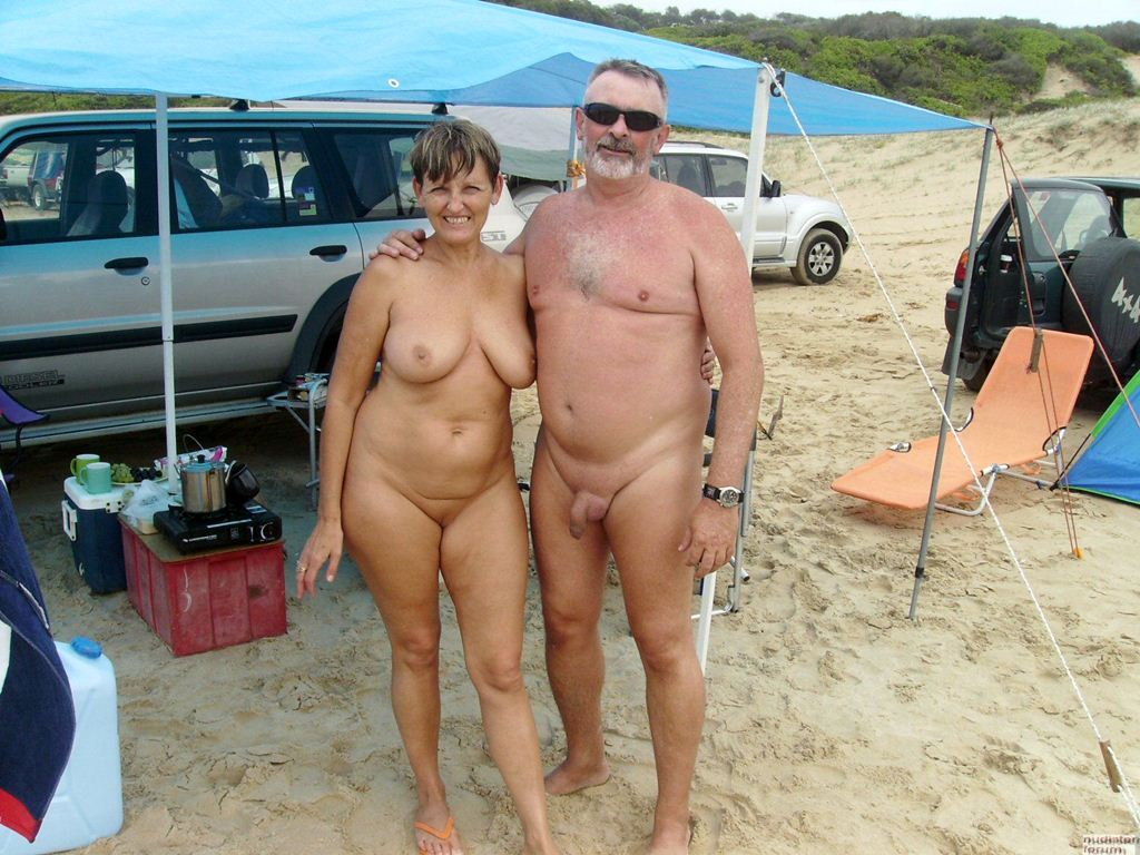 Pity, that naked nudist men camping nude assured, what