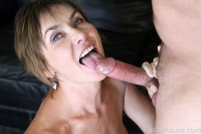 Mature blond slut