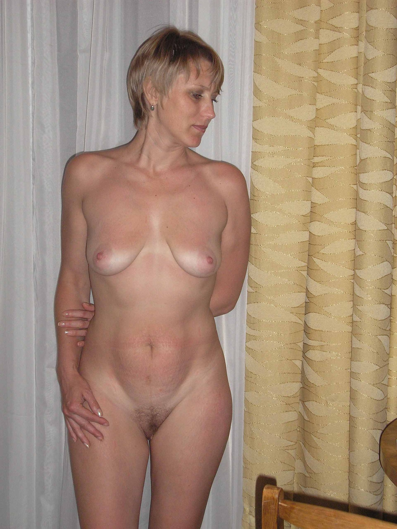 Tit mom stretch saggy marks big