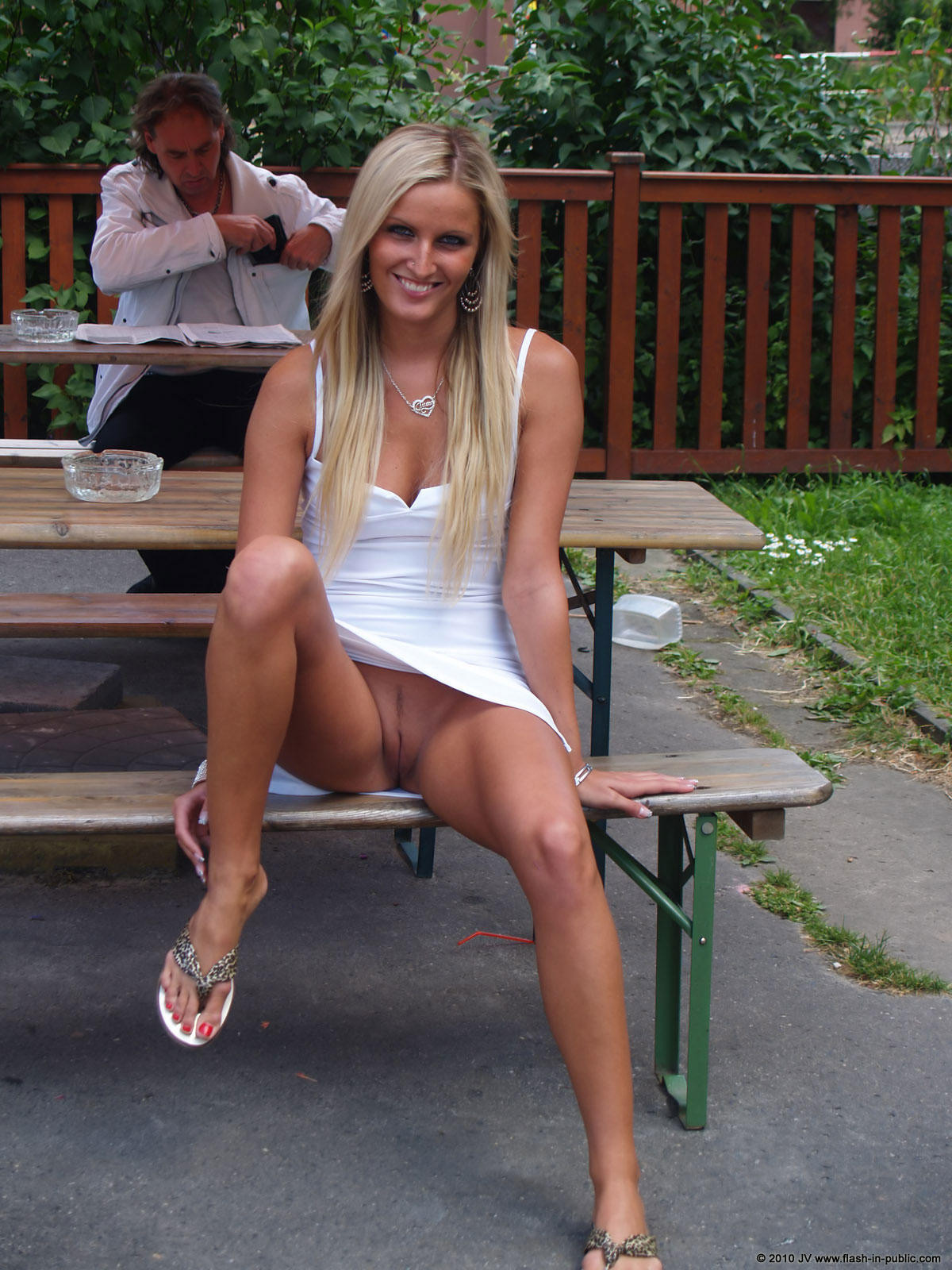 Mature on shorts