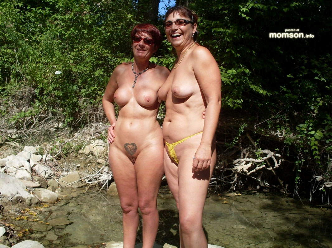 Choice naturist granny